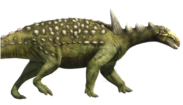 Reconstruction of Struthiosaurus (Oscar Sanisidro / ICP)