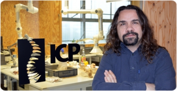 David M. Alba, new director of the ICP