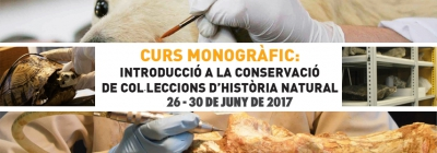 Introductory course on conservation of natural history collections. June 26-30.